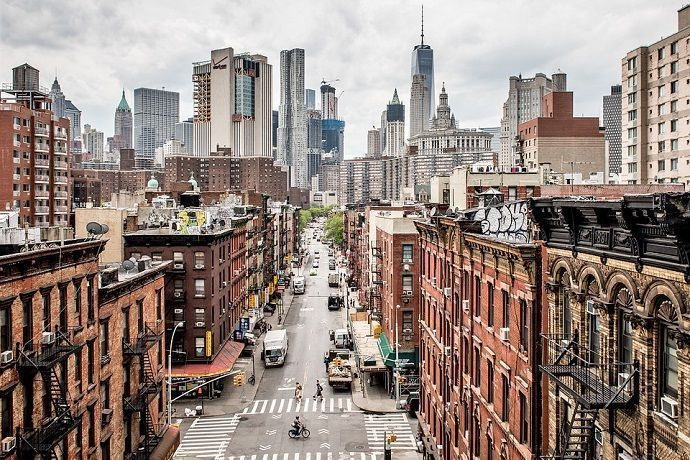 """Tour guiado por Nueva York """"contrastes de Nueva York""""."""