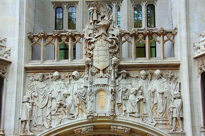 Puerta principal de la Abadía de Westminster