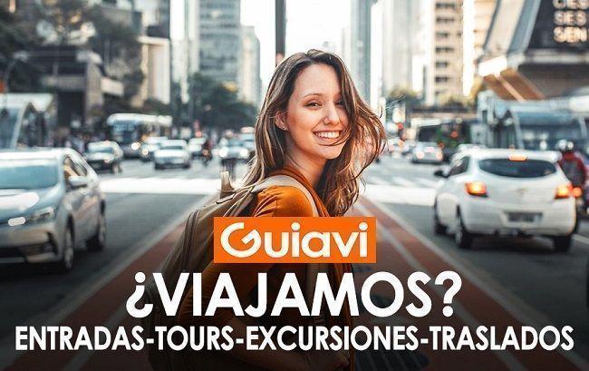 Guiavi. Visita ciudades y reservar entradas, tours, excursiones y mucho más