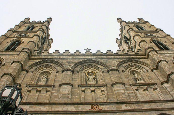 Excursión a Canadá desde Nueva York.. Montreal. Basílica de Notre Dame