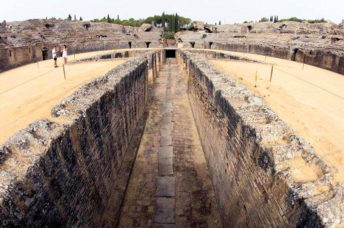 Ruinas de Itálica. Visitas guiadas.