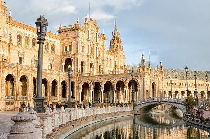 Sevilla. Plaza de españa. Reservar visitas guiadas, tours y entradas