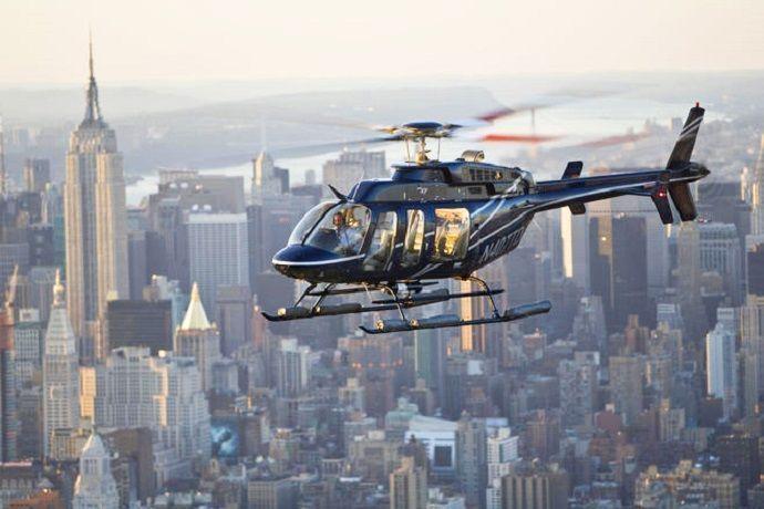 Paseo por Nueva York en helicóptero.