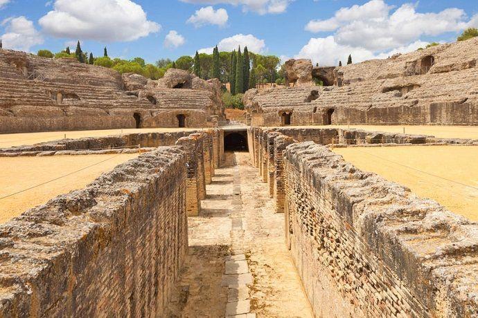 Visita guiada por Itálica. Reservar excursión desde Sevilla.
