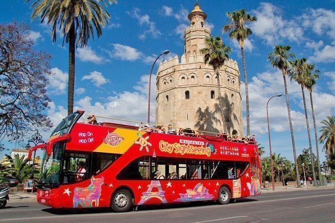Reservar Autobús turístico Sevilla