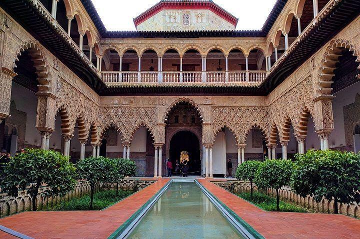 Comprar entradas para el Alcázar de Sevilla. Reservar entradas.