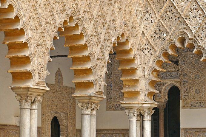 Entradas alcázar de Sevilla con guía turístico.