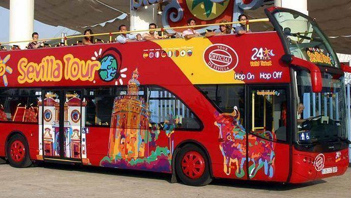 Reservar autobús turístico en Sevilla