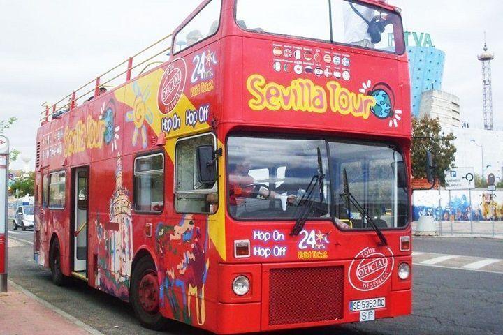 Reservar un autobús turístico en Sevilla