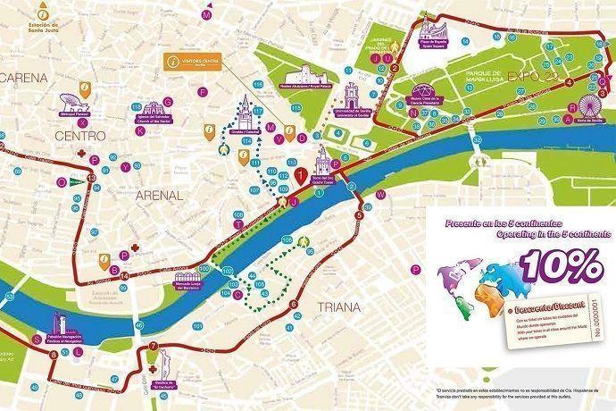 Reservar autobús turístico en Sevilla al mejor precio