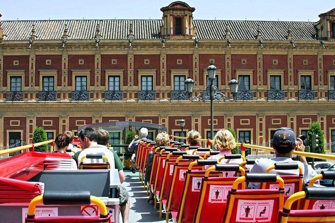 Visitar Sevilla autobús turístico