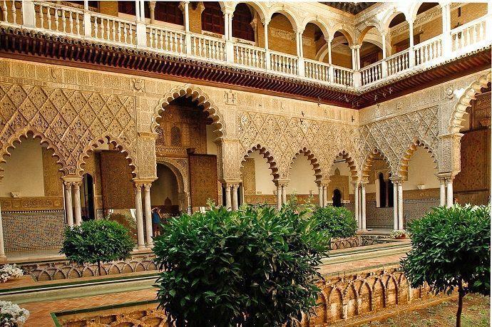 Visita guiada por el el Alcázar de Sevilla