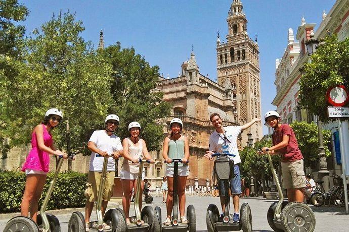 Alquilar un Segway en Sevilla. Mejor precio.
