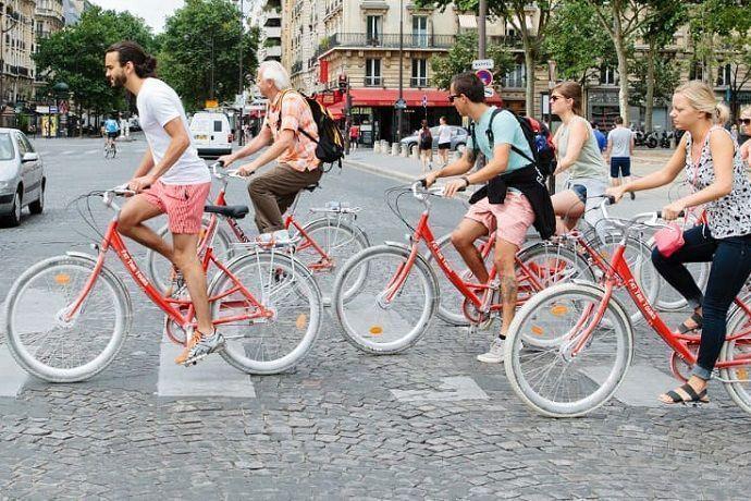 Tour por París en bicicleta