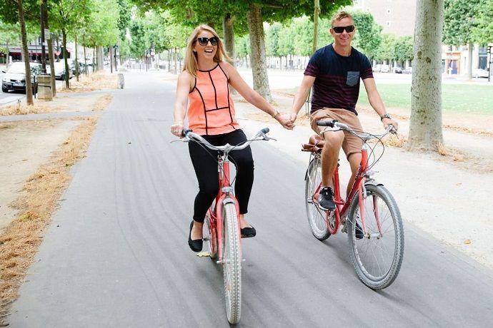 Hacer tour por París en Bicicleta
