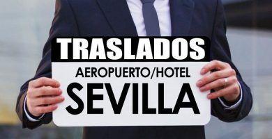 Traslados al aeropuerto de Sevilla. Mejor precio.