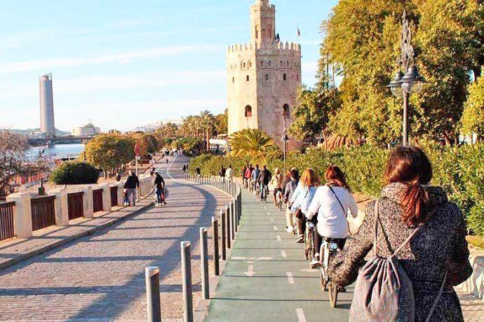 Reservas para visitar Sevilla en bicicleta