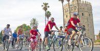 Turismo por Sevilla en bicicleta