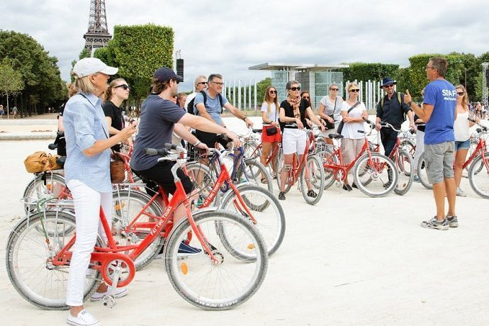 Reservar visita por París en bicicleta