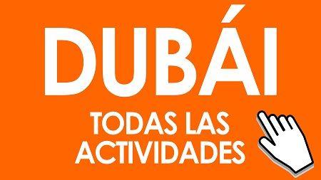 Turismo en Dubái. Visitas guiadas, entradas, tours