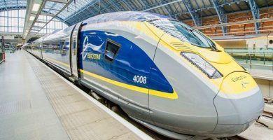 Excursión en tren Eurostar desde Londres a París