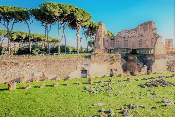 tour guiado Coliseo, palatino y foro romano.