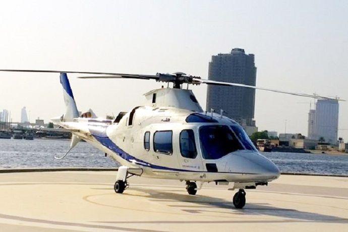 Reservas y horarios. Helicópteros en Dubái.