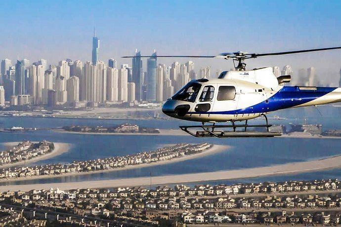 Dubái en Helicóptero