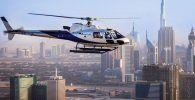 Dubái en Helicóptero.
