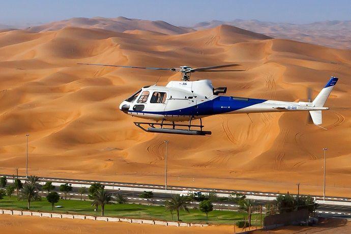 Reservar paseo en helicóptero por Dubái