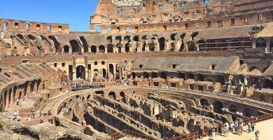 Guia turístico por Roma. Coliseo de Roma, Foro y Palatino