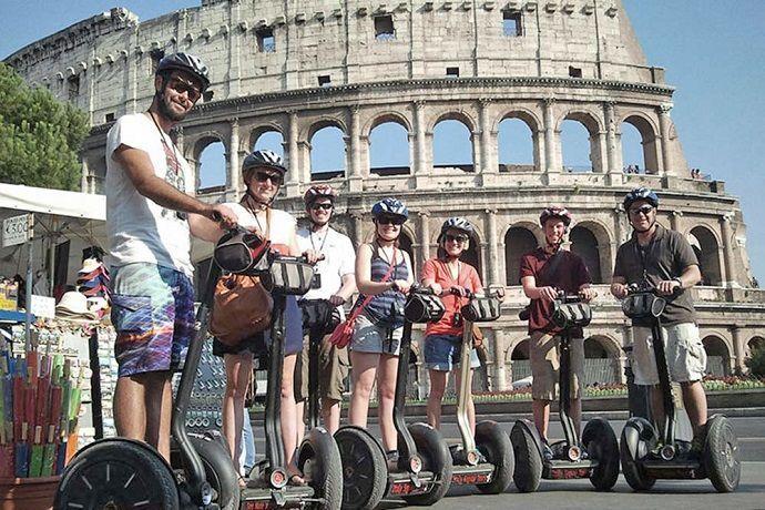 Excursión en Segway por Roma