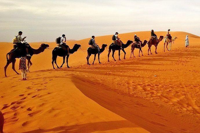Reservas para paseo por el desierto de Dubái.