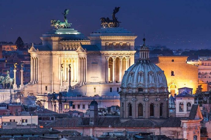 Tour nocturno por Roma