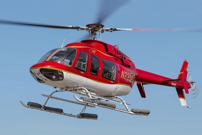 Paseo en helicóptero con los modelos BELL 407, BELL 407GX y BELL 407 GXP