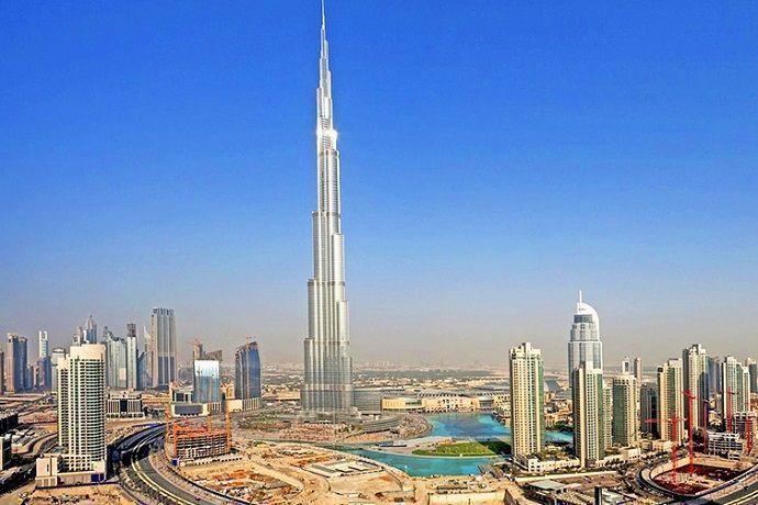 Vistas del Burj Khalifa