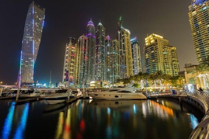 Puerto de Dubái Marina.