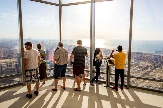Observatorio del Burj Khalifa.
