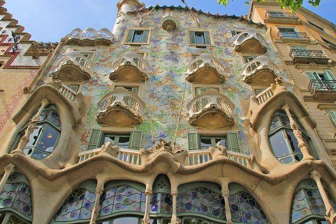 Ruta Gaudí. Casa Batlló.