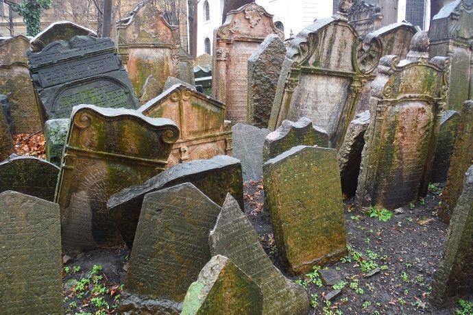 Visitas guiadas, Cementerio judío de Praga