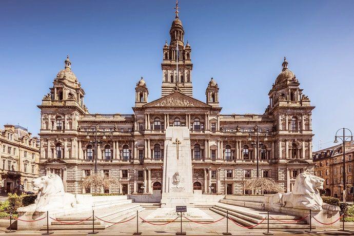 Glasgow. Excursión por Inglaterra y Escocia.