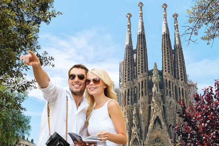 Guía turístico por Barcelona