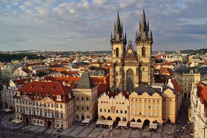 Tour privado por Praga. Plaza Vencel.