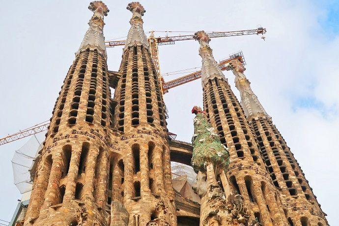 Ruta Gaudí. Sagrada Familia.