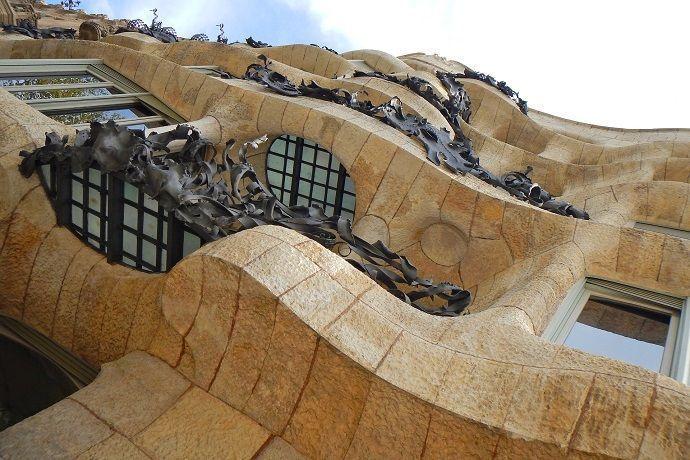 Ruta Gaudí. Casa Milá. La Pedrera.