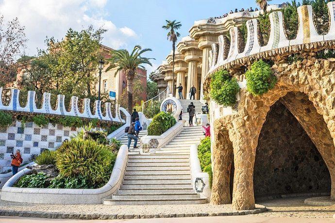 Ruta Gaudí. Parque Güell