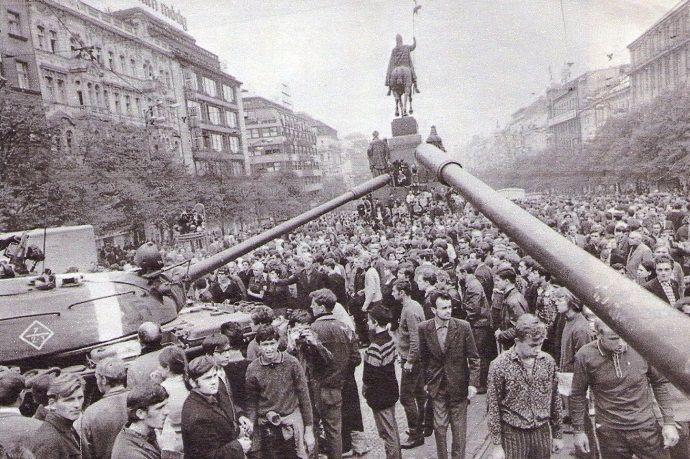 Praga comunista.