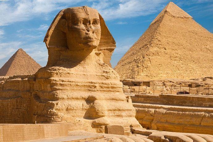 Visita guiada a la Gran Esfinge de Giza.