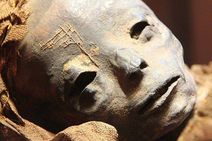 Momias de Egipto.