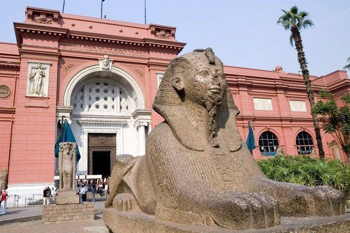 Guía turístico por El Cairo. Museo Egipcio de El Cairo.